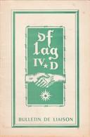 """Bulletin De Liaison """"OFLAG IV D""""  Camp De Prisonniers En Allemagne (Mars Avril Mai 1951) - 1939-45"""