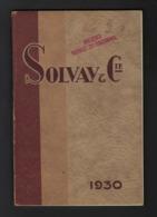 SOLVAY & Cie * PRODUITS SODIQUES ET CHLORES * 75 PP * + CARTE * 23.5 X 15 CM * BEAUCOUP D IMAGES * VOIR SCANS* - Vieux Papiers