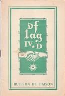 """Bulletin De Liaison """"OFLAG IV D"""" Camp De Prisonniers En Allemagne (Avril 1952) - 1939-45"""