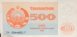 Uzbekistan 500 Sum, P-69a (1992) - AU - Usbekistan