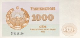 Uzbekistan 1.000 Sum, P-70b (1992) - UNC - Usbekistan