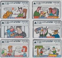 ISRAEL1996 NEWSPAPER YEDIOT AHRONOT SET OF 7 CARDS - Israel
