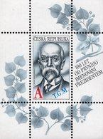 Czech Republic - 2018 - Tomáš Garrigue Masaryk, First Czechoslovak President - Mint Souvenir Sheet - Czech Republic