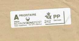 Vignette D'affranchissement De La ROYAL VIKING POST - Prioritaire - Sur Fragment - Vignette Di Affrancatura (ATM/Frama)