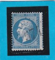 N° 22   GC  *574  BOURGES   ( 17 )  CHER - REF 9821 - 1862 Napoleon III