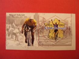 """2000-2009    - Timbre Oblitéré N° 3583     """" Tour De France 2003, M; Indurain """" Net  1.50 - France"""