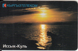 KYRGYZSTAN(chip) - Lake Issyk, Aqualand, Used - Kirghizistan