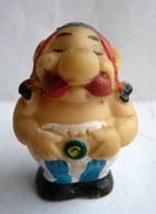 FIGURINE Asterix - OBELIX EMBOUT DE CRAYON 1967 Variante GROS Modèle  (1) - Asterix & Obelix