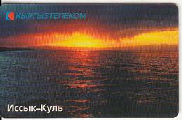 KYRGYZSTAN(chip) - Lake Issyk, Elkat, Used - Kyrgyzstan