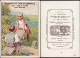 Chromo Pûblicitaire- Van Leckwck & Co. Anvers-Cafés Torréfiés. Theme: Café....... (VG) DC6815 - Tea & Coffee Manufacturers