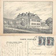 Arnex Sur Orbe - Le Collège             1921 - VD Vaud