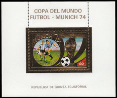 Soccer Football Equatorial Guinea Bl 81 MNH ** 1974 World Cup Germany - 1974 – Germania Ovest