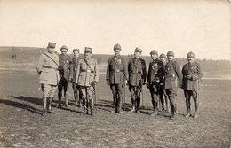 Cpa Carte Photo Soldat Grande Guerre,officiers. - Krieg, Militär