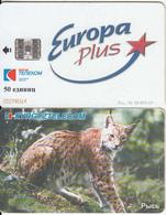 KYRGYZSTAN(chip) - Lynx, Europa Plus, Used - Kyrgyzstan