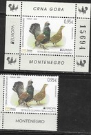 MONTENEGRO, 2019, MNH, EUROPA, BIRDS, 1v+S/SHEET - 2019