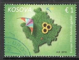 Kosovo, Yv 209 Jaar 2016,  Gestempeld - Kosovo