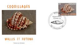 FDC Wallis Et Futuna De 2012 - Faune Marine. Coquillages. - FDC