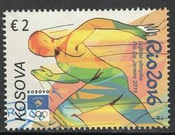 Kosovo, Yv  Zegel  Uit Blok 33 Jaar 2016, Hoge Waarde,   Gestempeld - Kosovo