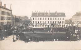 CARTE PHOTO  CHERBOURG  CASERNE BRIERE DE L ISLE  FETE CONCOURS DE GYMNASTIQUE ? - Cherbourg