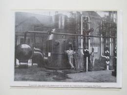 OUGREE MARIHAYE  (Acierie Belge)  L'installation   -  Coupure De Presse De 1928 - Historische Dokumente