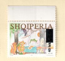 Albania Stamps 2006. Jean De La Fontaine. Overprint. Mich 3113. MNH - Albania