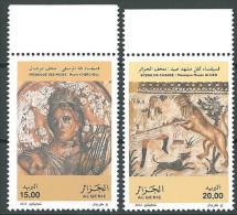 ALGERIA 2012 MNH - Mozaiques - Archeology - Godess Of Music - Hunting - Algeria (1962-...)
