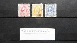 Timbres > Asie >  Transjordanie : 3 Timbres Oblitérés N° 150A-152A-154A- - Jordanie