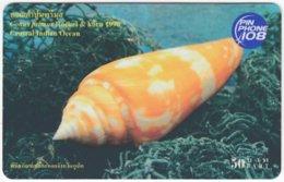 THAILAND F-932 Prepaid TOT - Animal, Sea Life, Slug - Used - Thaïlande