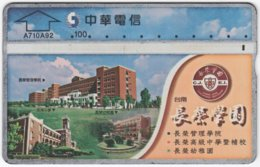 TAIWAN A-837 Chip Chunghwa - Architecture, Building - 734B - Used - Taiwan (Formosa)