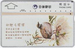 TAIWAN A-892 Chip Chunghwa - Painting, Animal, Bird - 610H - Used - Taiwan (Formosa)