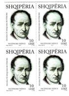 Albania Stamps 2015. Nicéphore Niépce. Block Of 4. MNH - Albania