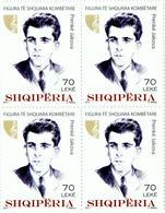 Albania Stamps 2017. National Personalities: Prenke Jakova. Block Of 4. MNH - Albania