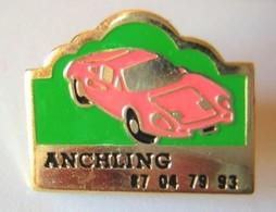 V36 Pin's ANCHLING Alpine Renault ?? Porsche ?? Ferrari ? Achat Immédiat - Porsche