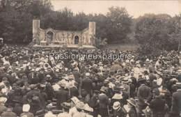 CARTE PHOTO LA ROCHELLE THEATRE DE PLEIN AIR 1909? - La Rochelle