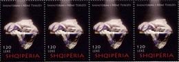 Albania Stamps 2016. Sanctification Of Mother Teresa. Strip Of Four 4. MNH - Albania