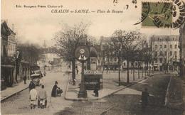 71 - CHALON SUR SAONE - PLACE DE BEAUNE - Chalon Sur Saone