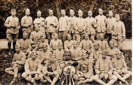 Cpa Carte Photo Soldats Grande Guerre,musiciens. - Krieg, Militär