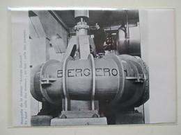 Station PICHEGU SAINT GILLES (Gard)  Salle Des Pompes  -  Coupure De Presse De 1928 - Andere Geräte