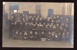 BLANKENBERGE - Uytkerke - Uitkerke - Fotokaart Gemeenteschool 1908-1909 - Carte Photo école Communale - Blankenberge