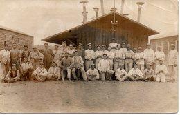 Cpa Carte Photo Soldats Grande Guerre. - Krieg, Militär