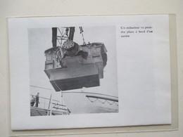 SAINT NAZAIRE -  Chantier Naval - Chargement D'un Réducteur De Navire  -  Coupure De Presse De 1959 - Bateaux