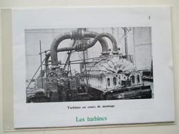 SAINT NAZAIRE -  Chantier Naval - Montage D'une Turbine De Navire  -  Coupure De Presse De 1959 - Bateaux