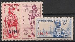 Inini - 1941 - N°Yv. 48 à 50 - Défense De L'empire - Neuf Luxe ** / MNH / Postfrisch - Inini (1932-1947)
