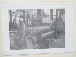 SAINT NAZAIRE -  Chantier Naval - Cintreuse De Tôle Pour Navire  -  Coupure De Presse De 1959 - Bateaux