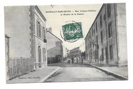 (26027-10) Romilly Sur Seine - Rue Voltaire Sellières Et Moulin De La Galette - Romilly-sur-Seine