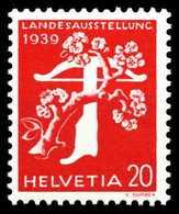 SCHWEIZ 1939 Nr 346z Postfrisch X4F5A32 - Schweiz