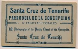XESP.299.  Santa Cruz De Tenerife - Parroquia De La Concepcion - 12 Tarjetas Postales - Tenerife