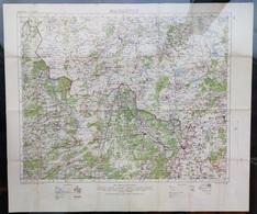 Militaire En Topografische Kaart UK War Office 1915 World War 1 WW1 Maaseik Tessenderlo Eindhoven Leopoldsburg Roermond - Cartes Topographiques