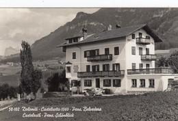 CASTELROTTO-BOLZANO-PENSIONE=BELVEDERE=DICITURA BILINGUE AL VERSO-CARTOLINA VERA FOTO- VIAGGIATA IL 8-8-1954 - Bolzano (Bozen)