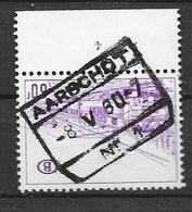 392  Aarschot Nr 1  Met Plaatnummer 4 - Bahnwesen